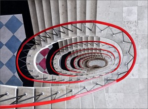 04 Treppe in Koblenz